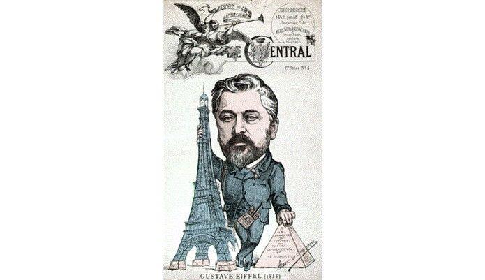 Gustave Eiffel foi responsável por construir o monumento em memória da Revolução Francesa  (Foto: Domínio Público)