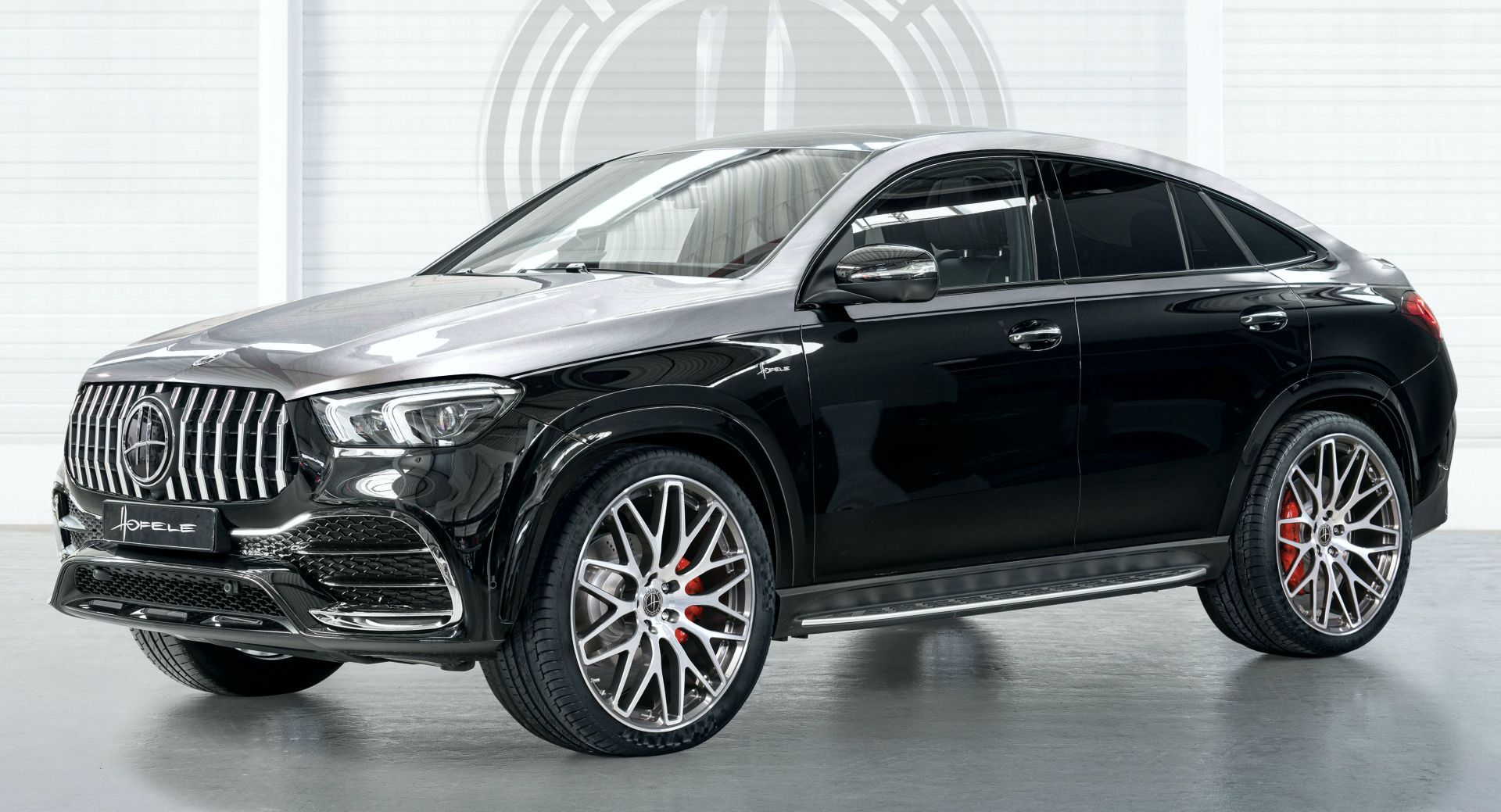 Hofele S Mercedes Gle Coupe Looks Like A Collab Between Maybach And Amg Carscoops Mercedes Benz Gle Coupe Mercedes Benz Gle Mercedes