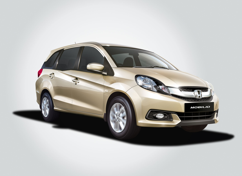 Honda Mobilio Golden Front Best Wallpaper Desktop