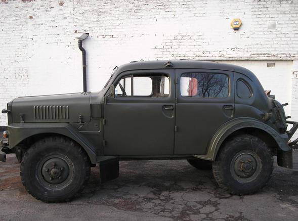 1954 Volvo TP21 Sugga Command Car