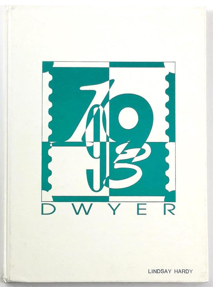 1993 Dwyer Middle School Huntington Beach Ca Original Yearbook