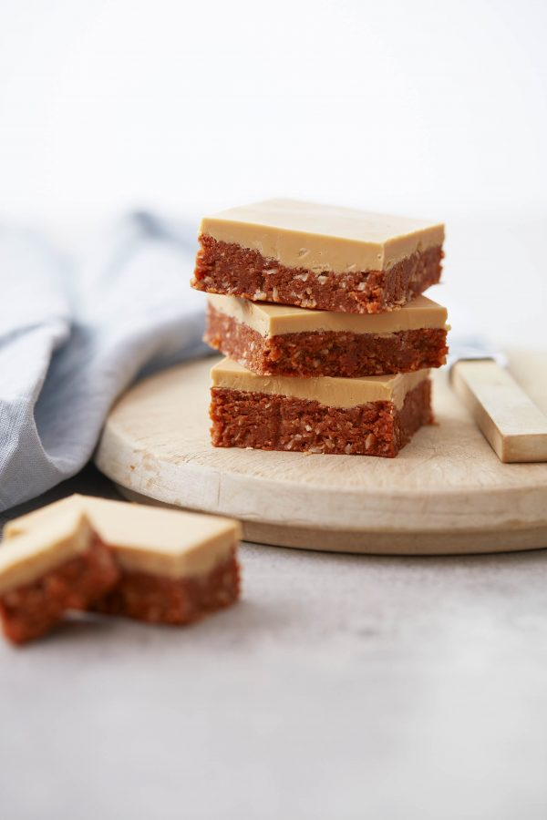 No Bake Caramel Slice Recipe Baking Baking Recipes Food Processor Recipes