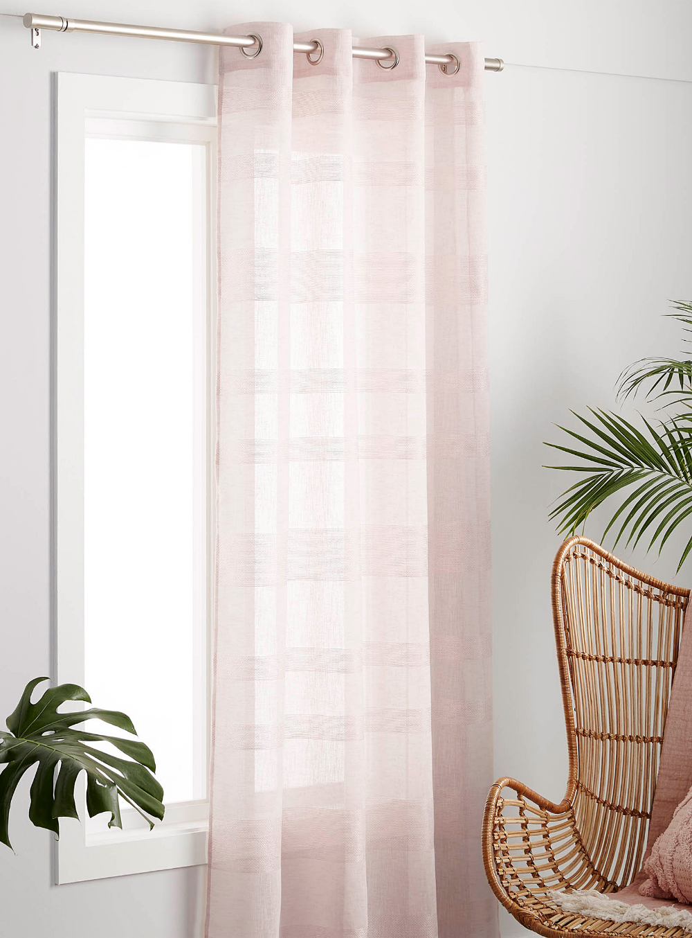 Pastel Horizon Sheer Curtain 135 X 220 Cm In 2020 Curtains Living Room Summer Curtains Curtains #summer #curtains #for #living #room