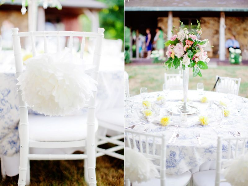 French Country wedding decor BEAUTIFUL! Jacobus Photography www ...