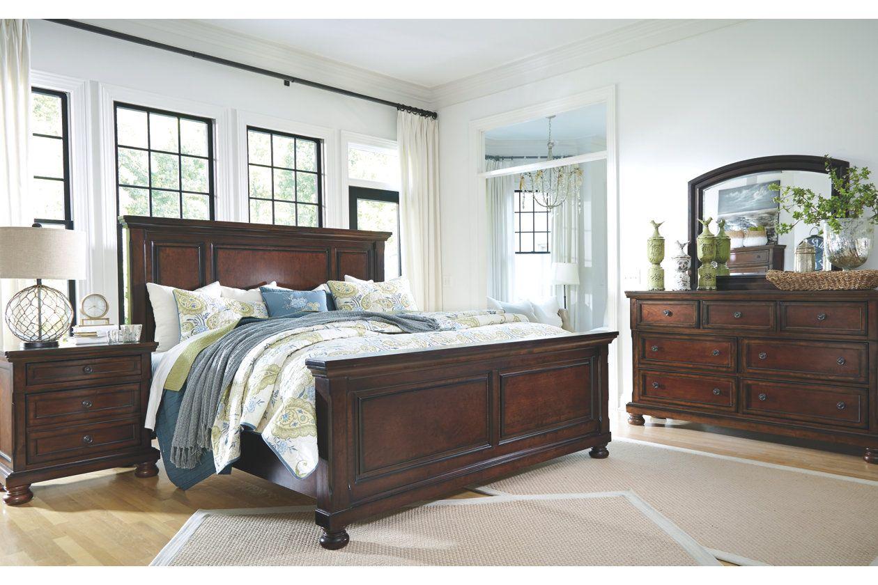 Porter King Panel Bed Ashley Furniture Homestore Ph 242 Ng Ngủ