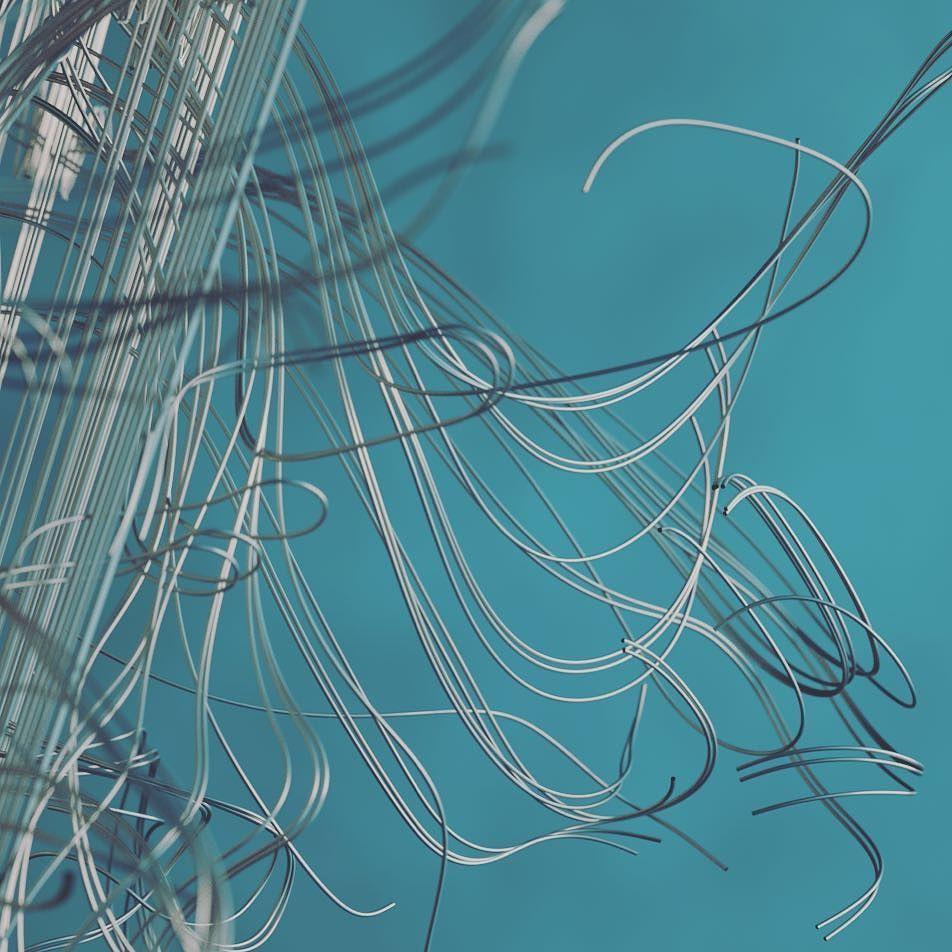 #3dart #3ddesign #abstract #art #abstractart #3d #c4d #cinema4d #graphicdesign #form #color #cg #metal #wire #instaart #motiondesign #graphics #digitalart #digital #visualart #octane #render by chromajj