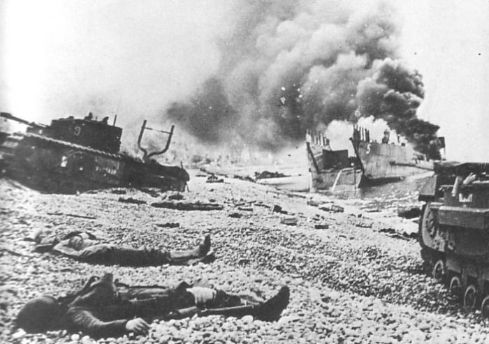 We Suffered Far To Many Casualties Hitting The Beaches