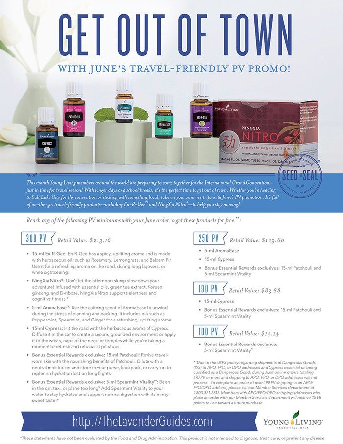 June 2017 Young Living Freebies | The Lavender Guides