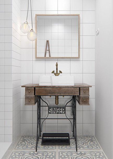 www.badkamers-voorbeelden.nl afbeeldingen minimalistisch-witte ...