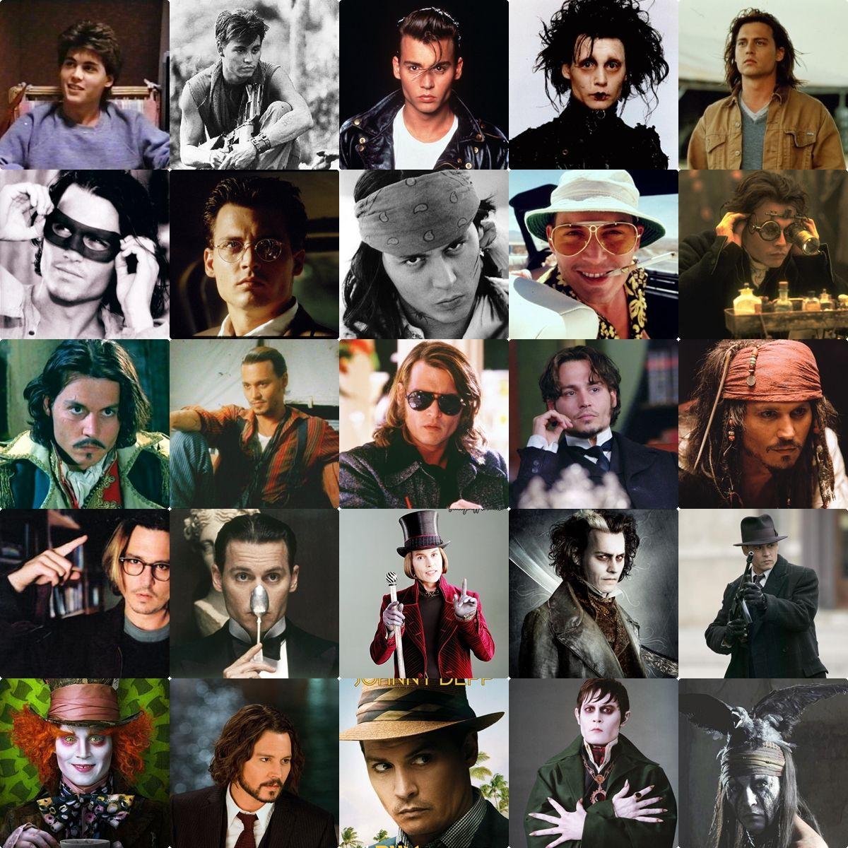todos os personagens de johnny depp - Pesquisa Google