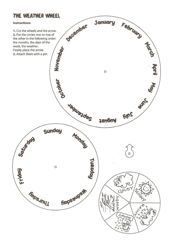 Predownload: Weather Wheel Days Months Seasons Preschool Weather Activities Preschool Weather Activities For Kids [ 1450 x 1024 Pixel ]