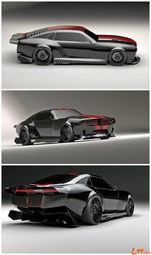 2012 Pontiac Firebird TT Black Edition Concept by Kasim Tlibekov