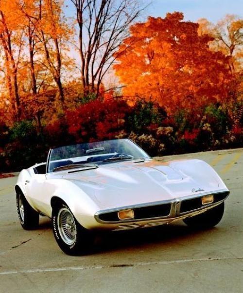 Pontiac Banshee prototype. A potential Corvette threat ...