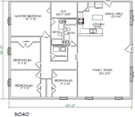combine the two bathrooms into a master bathroom and make bedroom