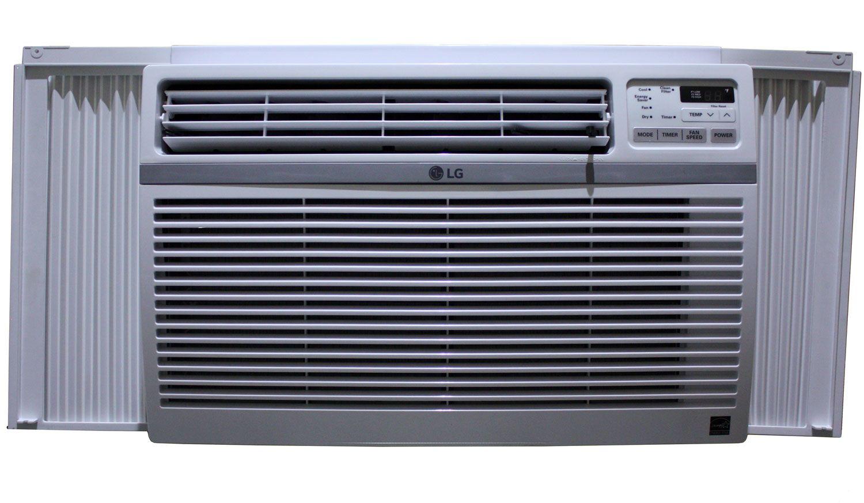 Lg 12 000 Btu 12 1 Eer 115v Window Air Conditioner In 2020 Window Air Conditioner Air Conditioner Btu Air Conditioner