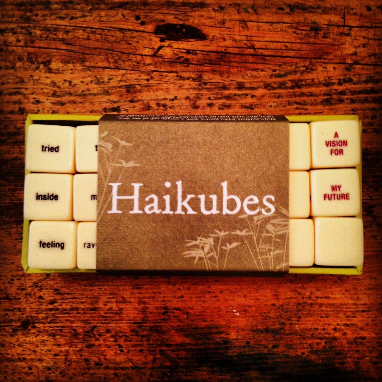 Haikubes In my feelings, Feelings, Coffee bag