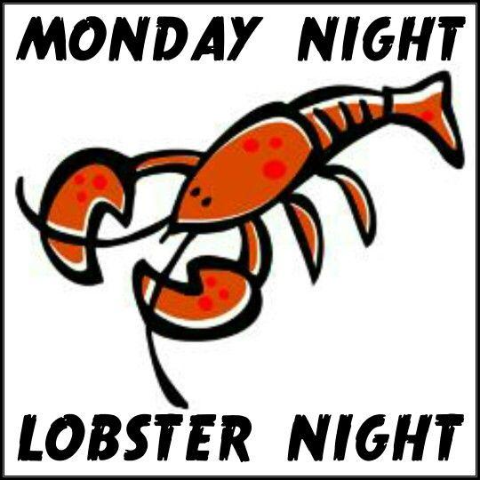 #sangria71 #mondaynight #lobsternight 1.25lb lobster = $16.96 2lb lobster = $25.95