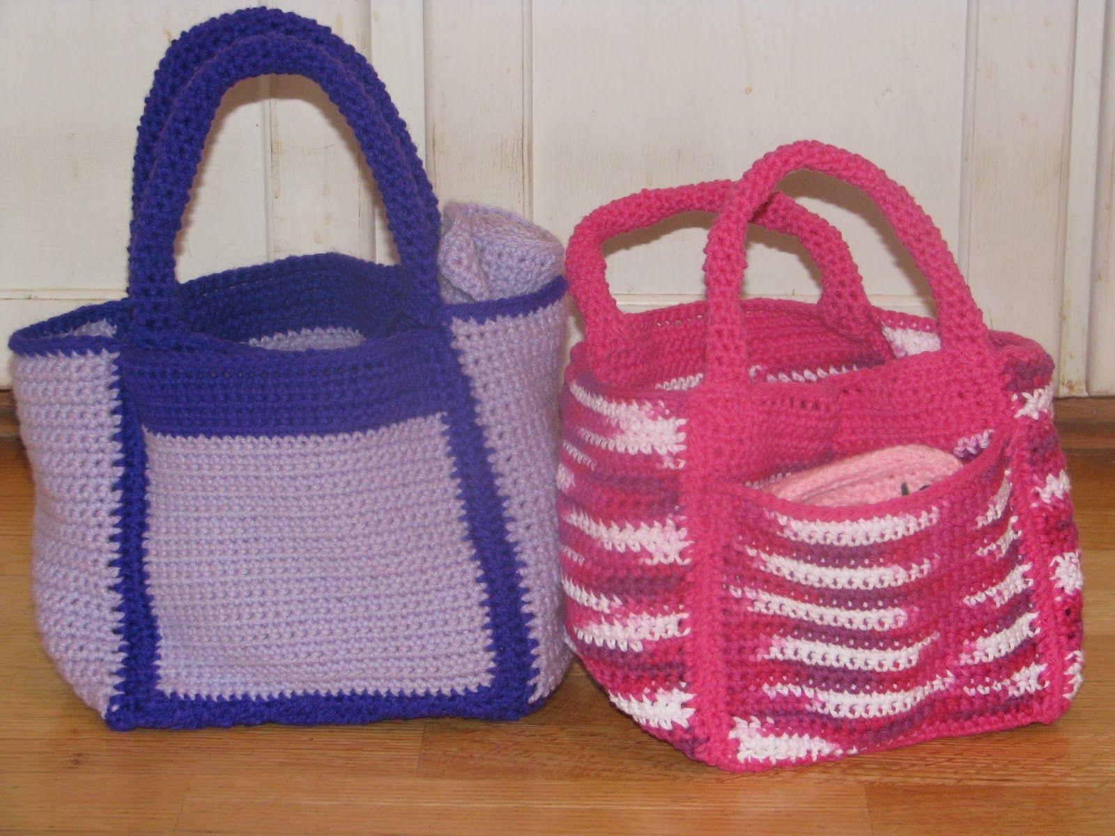 free crochet diaper bag | Craft Attic Resources | Zee\'s Crochet ...