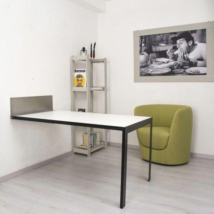 Spiegel Mit Bügelbrett Innenraum, Kleine Wohnung, Tische, Platzsparender  Esstisch, Platzsparende Möbel,