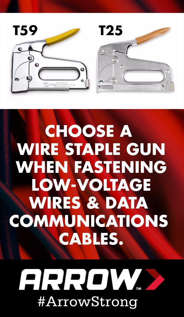 Wire Staple Gun | Pick A Wire Staple Gun When Fastening Low Voltage Wires Like String