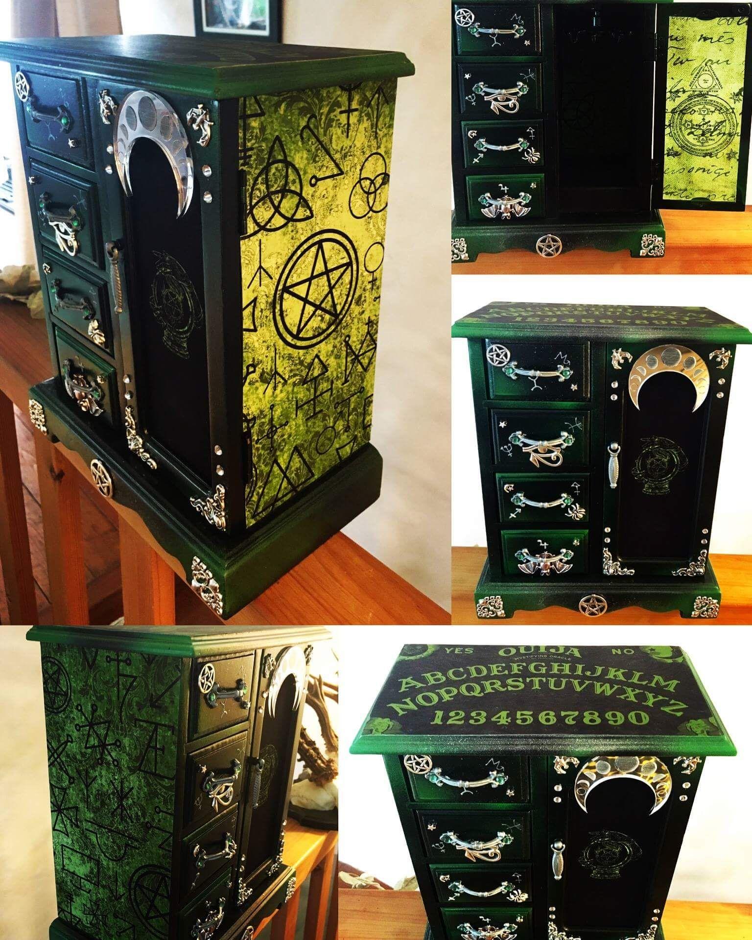 Mobili In Stile Gotico pin di sara pagani su tutorial | idee, barattoli e gotico