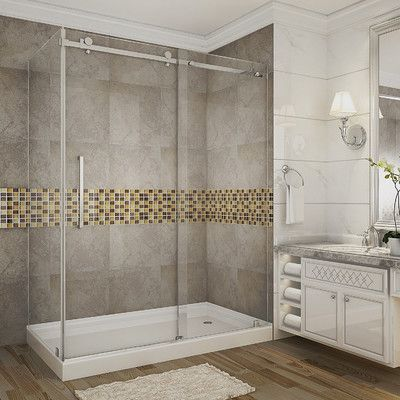 Aston Moselle 60 X 77 5 Rectangle Sliding Shower Enclosure With