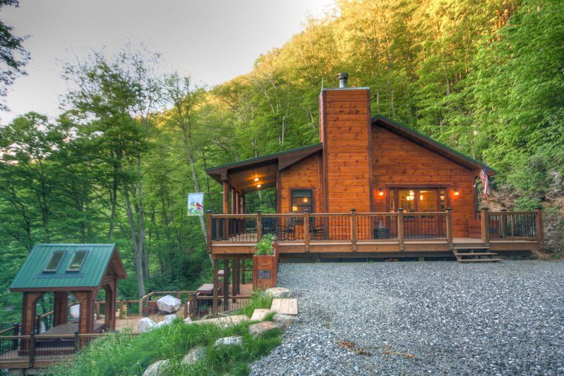 Whispering Waters | Carolina Cabin Rentals | Vacation Rental | New River |  Boone, NC | Places I Want To Go! | Pinterest | Cabin And Vacation