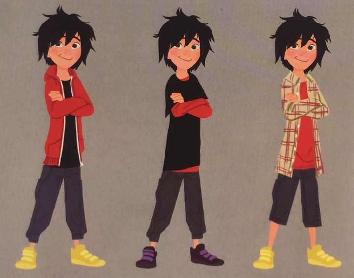 Big Hero 6 Concept Art Character
