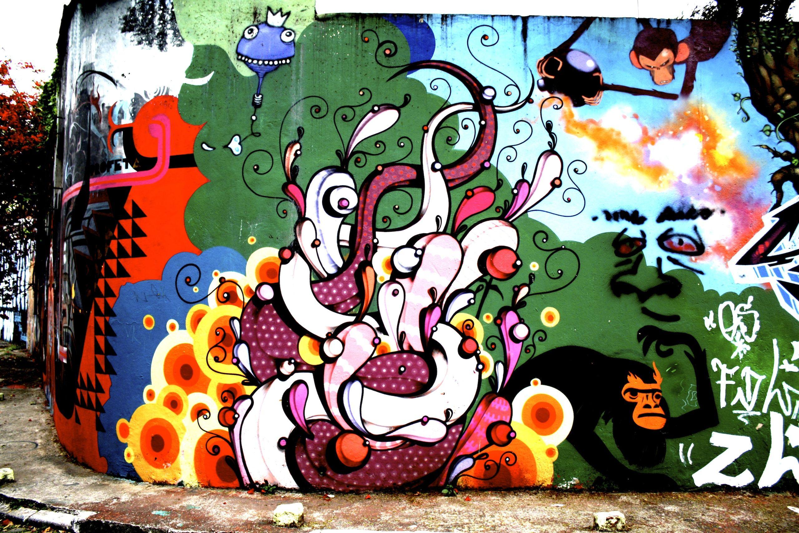 Открытки с граффити