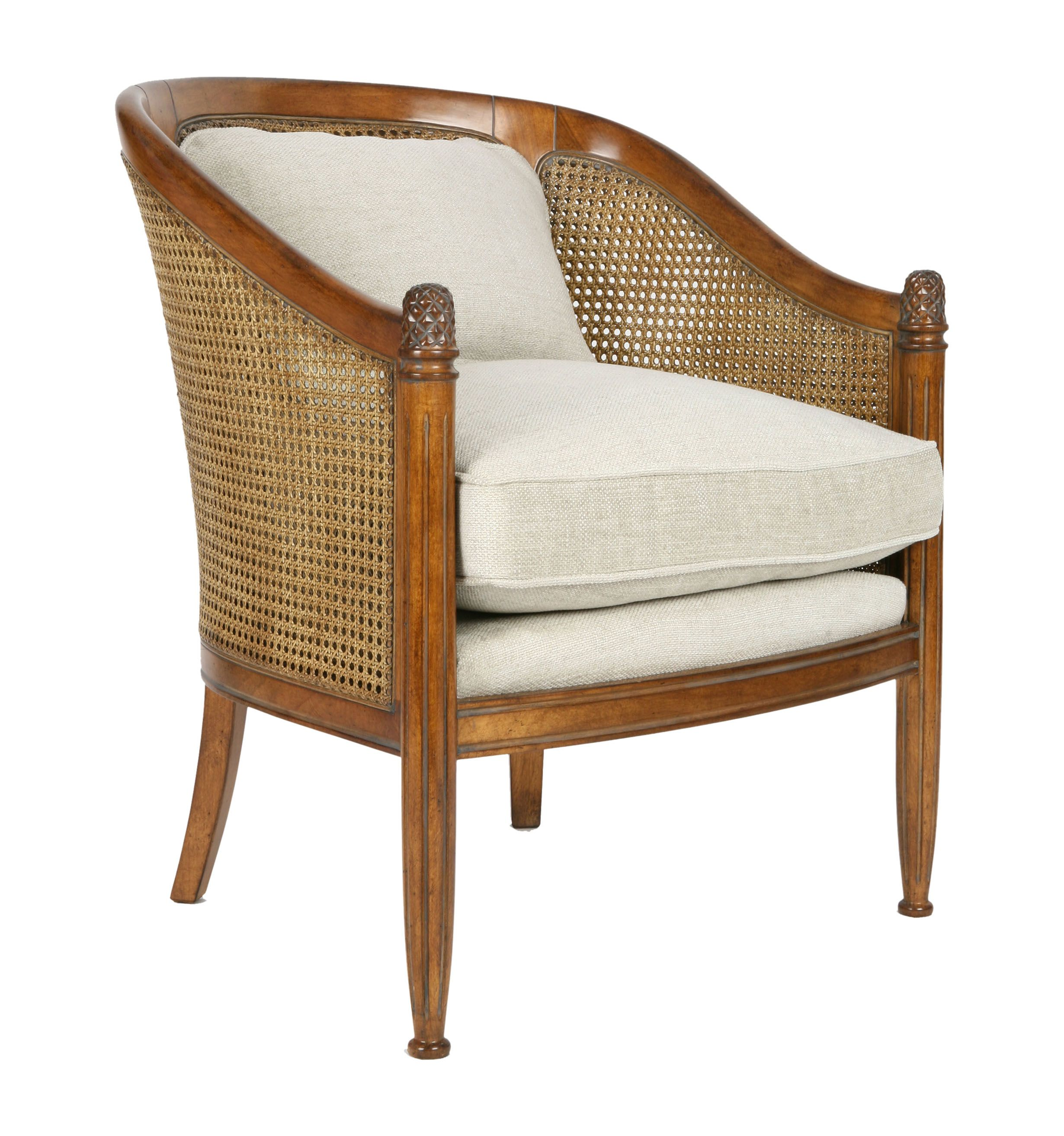 Bergère Tradition | Traditional armchairs, Wood furniture ...