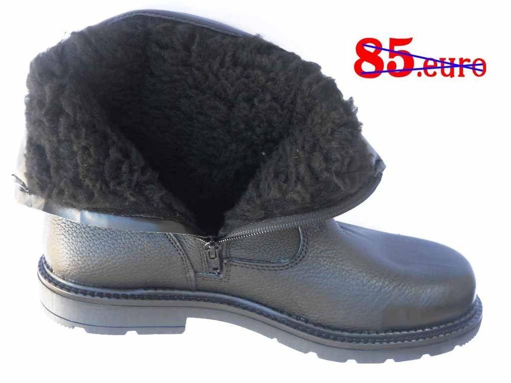 lowest price b884a 61033 Dettagli su STIVALI UOMO vera pelle scarponcini stivaletti ...