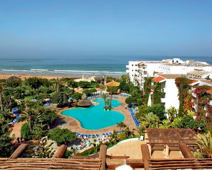 Casablanca Morocco Beach Hotels Moroccan Oceanfront Lodging