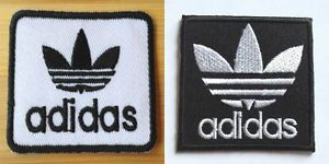 Adidas Patch Iron On Embroidered Badge Applique Toppa Patches