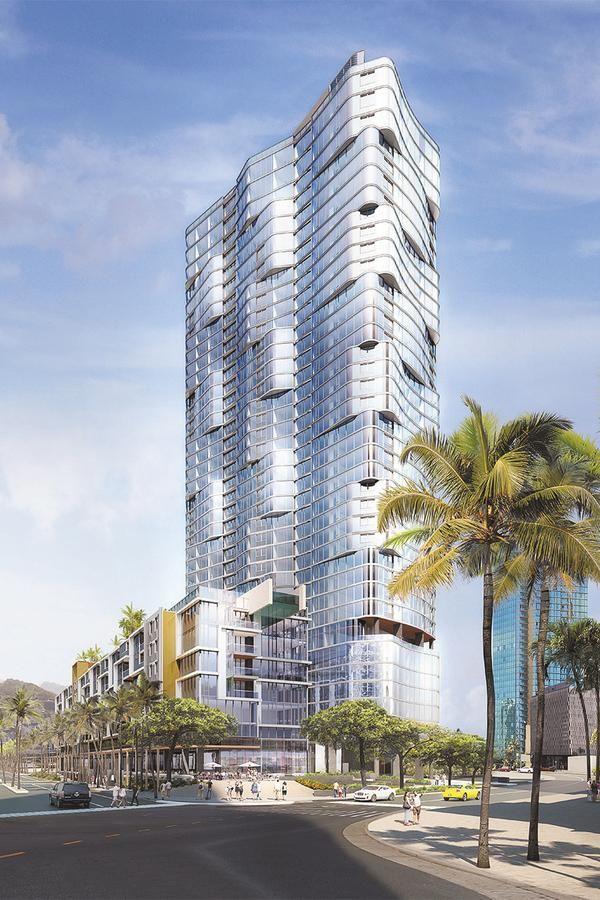 Anaha Tower, Kakaako, Hawaii {luxury residential tower project}