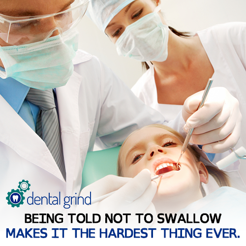 Let S Play A Game Of Try Not To Swallow With Fingers In Your Mouth Dentalgrind Dentalhumor Dentistry Dental Humor Dental Jobs Dental Assistant Jobs