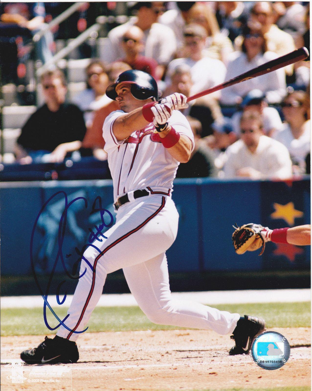 Javy Lopez With Atlanta Braves 1992 2003 Atlanta Braves Atlanta Braves Baseball Braves