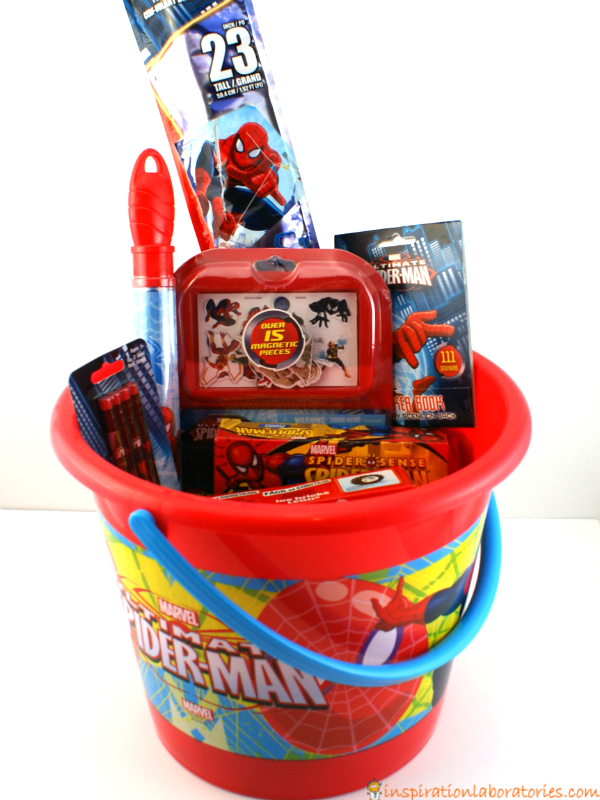 Spider man easter basket negle Image collections