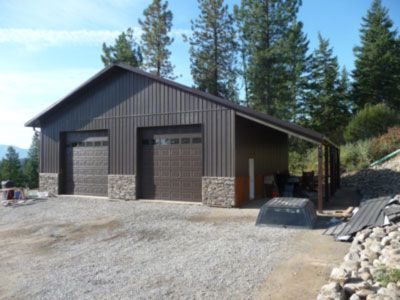Shop pole building designs we have extensive experience for Pole barn style garage