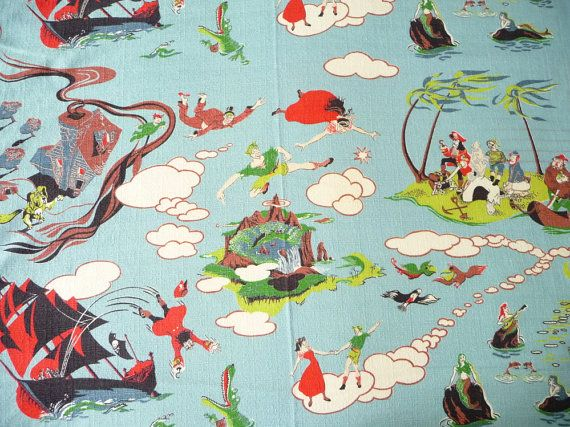 Vintage Cotton Barkcloth Baby Boy Quilts Boy Quilts