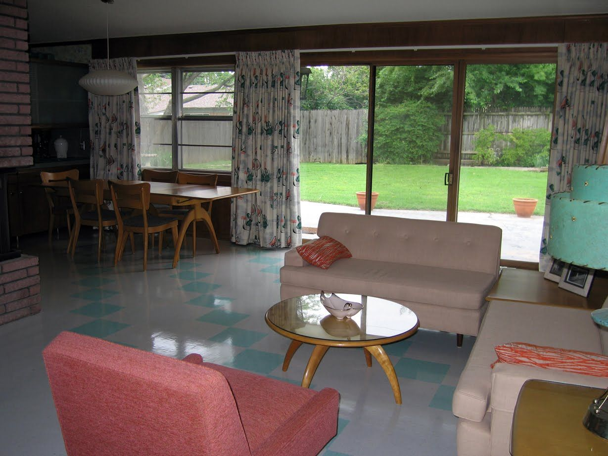 Wedgwood tulsa 1950s atomic ranch house this is for you - Modern ranch home interior design ...