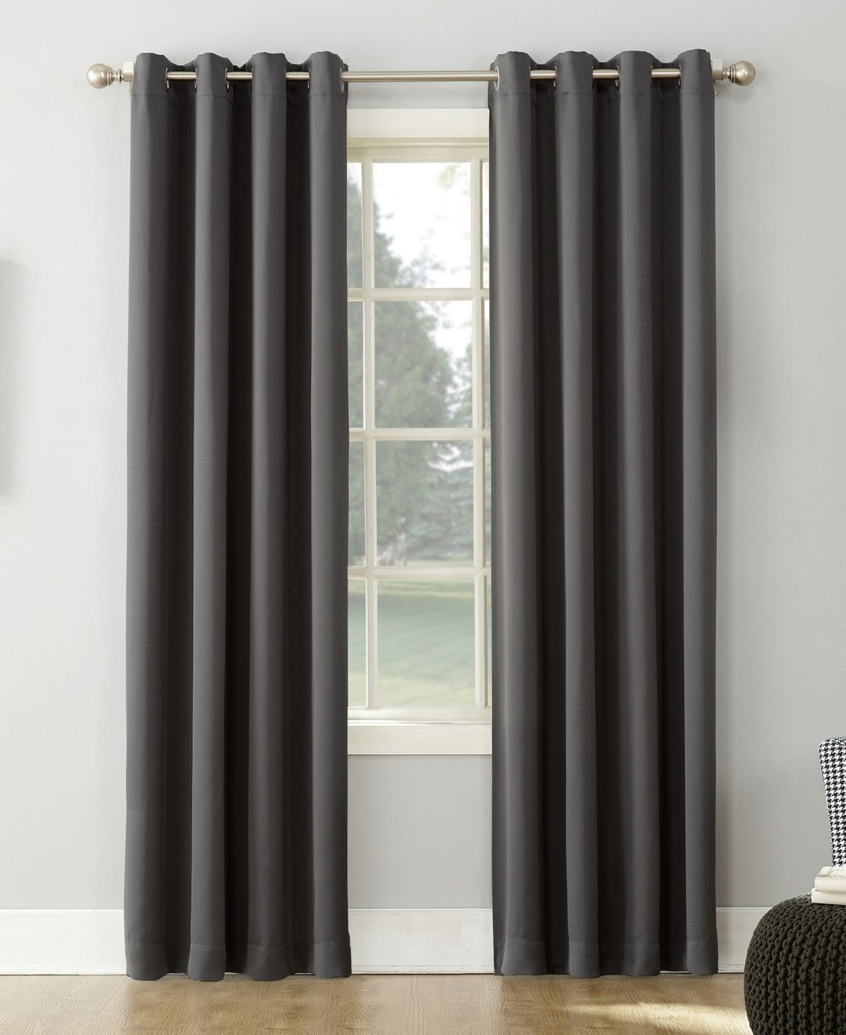 Sun Zero Saxon 54 X 108 Blackout Curtain Panel Blush In 2019