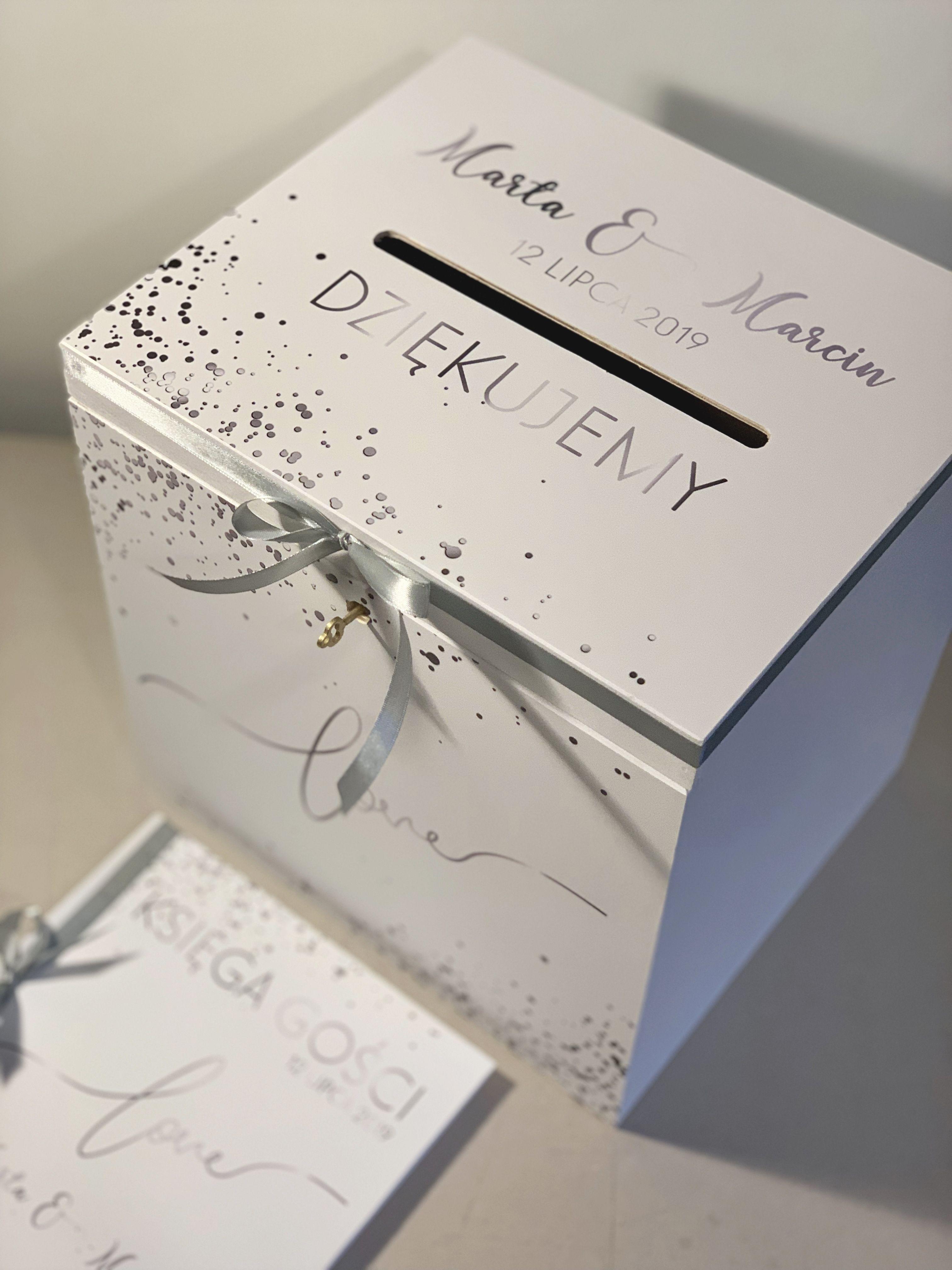 Srebrne Pudelko Na Koperty Facebook Sign Up Wedding Decorative Boxes