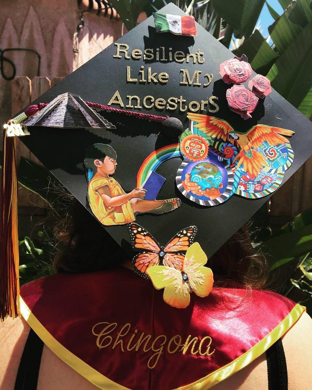 25 Inspiring Grad Caps That Honor The Sacrifices Of Immigrant Paren Graduation Cap Decoration College Graduation Cap Decoration Funny Graduation Cap Decoration