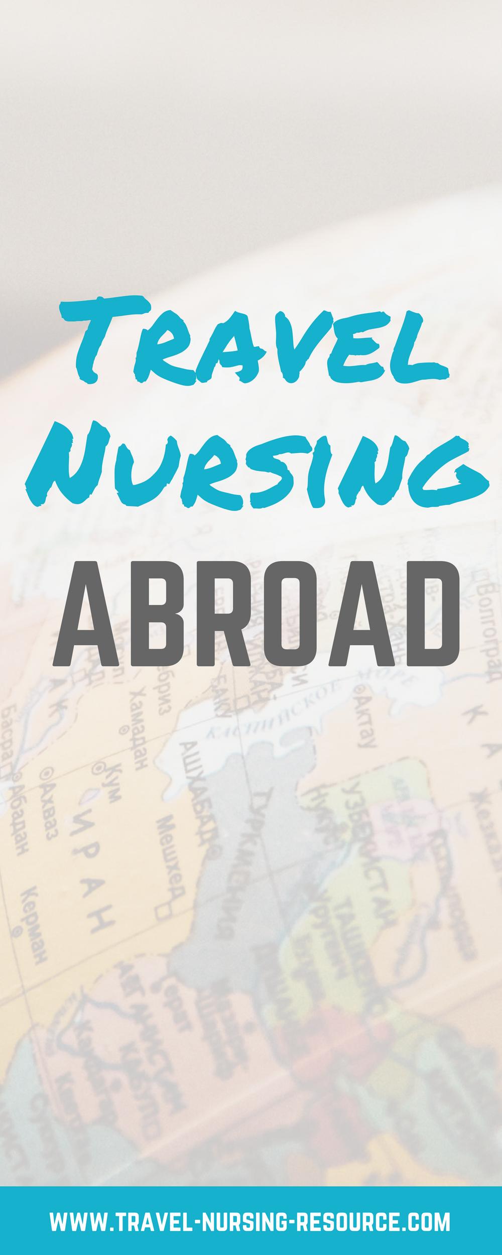 International Nursing Jobs Travel Nursing Resource Nursing