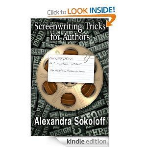 Screenwriting Tricks For Authors (and Screenwriters!) Workbook by Alexandra Sokoloff. --- Screenwriting is a compressed and dynamic storytelling form and the techniques of screenwriting are easily adaptable to novel writing. You can jump-start your plot and bring your characters and scenes vibrantly alive on the page - by watching your favorite movies and learning from the storytelling tricks of great filmmakers.