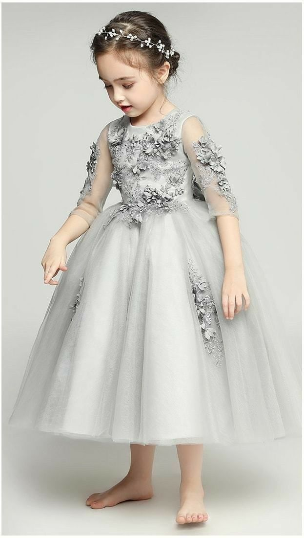 1eb5827149 Pin by Ainibakker on kids fashion | Kids outfits, Flower girl gown ...