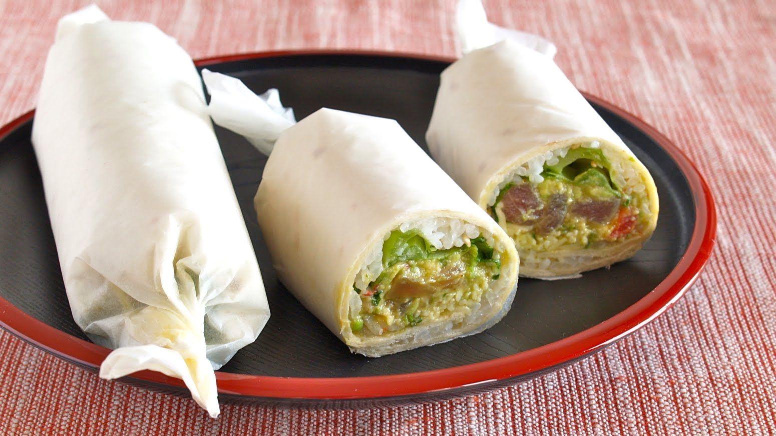 Httpsyoutubewatchvz1qtikpvu9q food porn pinterest create eat happy kawaii japanese recipes and cooking hacks how to make sushi burrito video recipe forumfinder Gallery