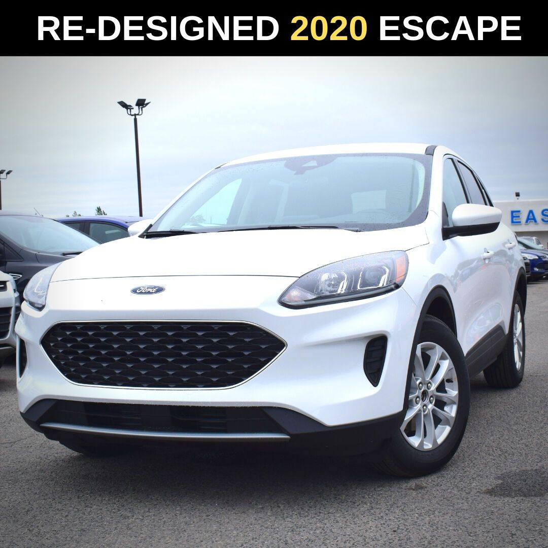 All New Redesigned 2020 Ford Escape Has Arrived At Ecford