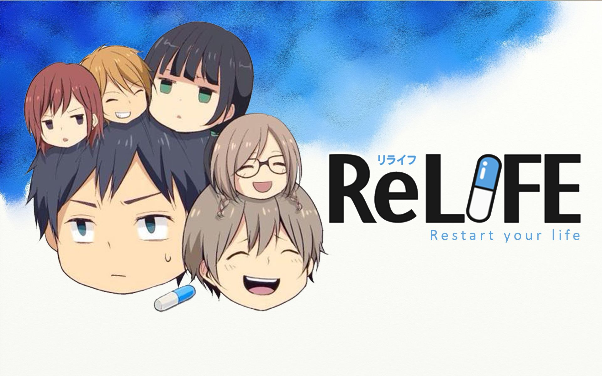 ReLife Anime Desktop Wallpaper Anime Pinterest Anime
