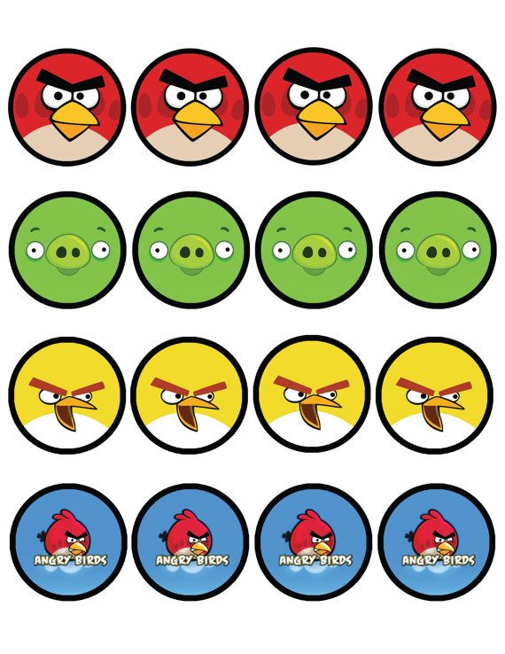 image about Angry Bird Printable identified as electronic pdf in the direction of print Get together together with a Baby-Indignant Birds + Inexperienced
